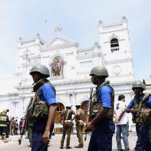 Šri Lankoje sprogdinimų aukų padaugėjo iki 310