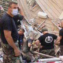 Sprogimas Beirute pareikalavo mažiausiai 137 gyvybių, 5 tūkst. žmonių sužeisti