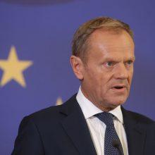 Europos Vadovų Tarybos pirmininkas vieši Gruzijoje