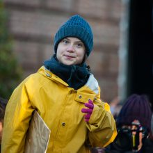 Po ilgų kelionių klimato aktyvistė G. Thunberg sugrįžo namo
