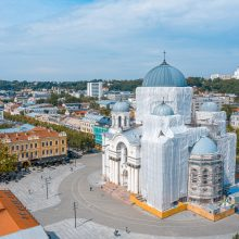 Atsinaujina vienas ryškiausių Kauno architektūrinių akcentų