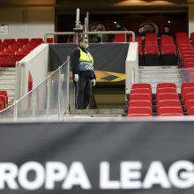 UEFA dėl koronaviruso atidėjo Čempionų ir Europos lygų varžybas