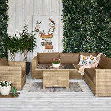 Prasideda terasų sezonas: penki patarimai ieškantiems sodo baldų