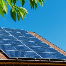 Gyventojų prašoma suma saulės elektrinėms ir šildymo katilams – beveik 23 mln. eurų