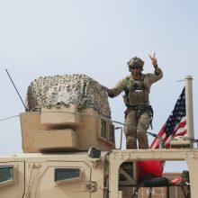 Iš Sirijos išvedami JAV kariai įžengė į Iraką