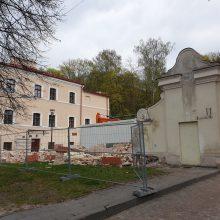 Lietuvos nacionalinis muziejus atnaujino aplinkos tvarkymo darbus