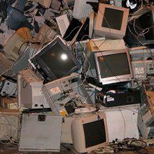 Prognozė: elektronikos atliekų srautas ES iki 2020-ųjų viršys 12 mln. tonų