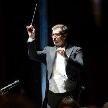 Dirigentas M. Pitrėnas: jei kurčiau muziką, ji būtų panaši į šią