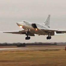 Rusijoje per incidentą strateginiame bombonešyje žuvo trys įgulos nariai