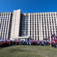 Lietuva ragina griežtinti sankcijas Rusijai dėl pasų išdavimo Donbase