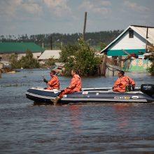 Potvyniai Sibire: žuvusių žmonių skaičius išaugo iki 14
