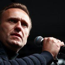 Rusijos opozicijos politikas A. Navalnas lankosi Vilniuje