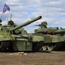 Kremlius: V. Putino ir J. Bideno požiūriai į Ukrainos konfliktą smarkiai išsiskiria