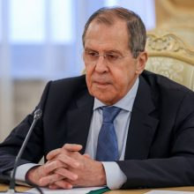 Maskva žada griežtai reaguoti į bandymus atplėšti Baltarusiją nuo Rusijos