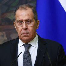S. Lavrovas: Maskva atsakys, jei ES paskelbs naujų sankcijų Rusijai