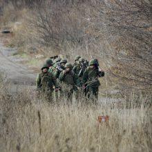 Kijevo ir Ukrainos separatistų pajėgos pradėjo atsitraukimą