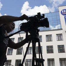 Kijeve į televizijos pastatą iššautas raketinio granatsvaidžio sviedinys