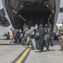 JAV intensyvina evakuaciją iš Kabulo, artėjant rugpjūčio 31-osios galutiniam terminui