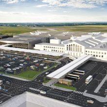 """Lietuvos oro uostai ir """"Mitnija"""" nutraukia sutartį dėl Vilniaus oro uosto terminalo statybos"""