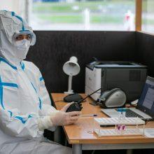 Vilnius didina koronaviruso tyrimų mobiliuosiuose punktuose apimtis