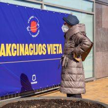 Vilnius siūlo dar beveik 3,5 tūkst. vakcinų, registruoti kviečiama ir artimuosius