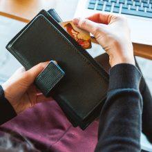 Slaptažodžių kodų kortelėms – 100 eurų limitas