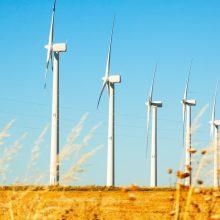 Vėjo elektrinės pernai pagamino rekordinį kiekį elektros energijos