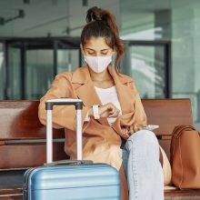 Keleiviai turi pasirūpinti pažymomis dėl COVID-19 testo ne tik lietuvių kalba