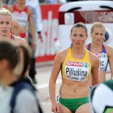 Bėgikė N. Piliušina Europos čempionate liko 19-a