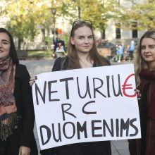 Žurnalistai piktinasi: valdžios veiksmai riboja žmogaus teises bei laisves
