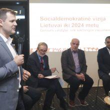Socialdemokratai gerovę sietų su socialine gerove, ne ekonomika