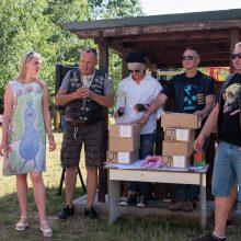 """Karmėlavos seniūnija įsitraukė į """"Gatvės roko"""" festivalį"""