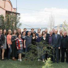 """Choras """"Vilnius"""" grįžo iš kultūrinės misijos Sakartvele"""