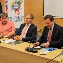 Užsienio reikalų ministerijoje aptartos galimybės vienytis proeuropietiškoms NVO