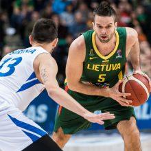 Lietuvos krepšininkai savo pranašumą prieš čekus įrodė tik ketvirtajame kėlinyje