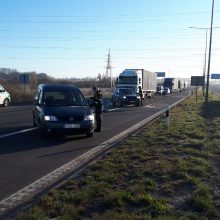 Klaipėdos apskrityje policijos postuose apsisukti teko apie 300 vairuotojų