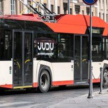 J. Basanavičiaus g. – laikini eismo ir viešojo transporto judėjimo pokyčiai