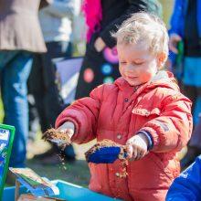 Vilniuje įkurtas pirmasis atviras daržas vasarą džiugins daržovių derliumi