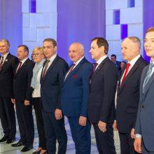 Kandidatai diskutavo dėl Ukrainos ateities: pabrėžė korupcijos ir oligarchų problemą