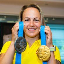 S. Krupeckaitė: vieną dieną laimi medalį, o kitą jau reikia galvoti apie treniruotę