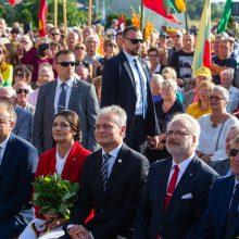 G. Nausėda: Baltijos kelias – tai bendrumas, vienybė ir telkianti jėga