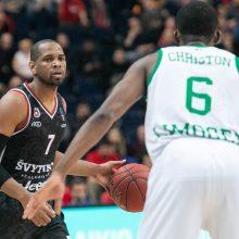 """""""Ryto"""" krepšininkai Europos taurės turnyre šventė antrą pergalę iš eilės"""