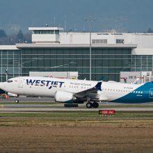 """Šaltiniai: bandomasis """"Boeing 737 MAX"""" skrydis atidėtas iki gegužės"""