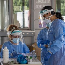Graikijoje per parą nustatytas rekordinis užsikrėtimo koronavirusu atvejų skaičius