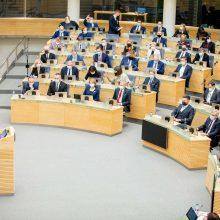 Liberalų sąjūdžio lyderė V. Čmilytė-Nielsen išrinkta Seimo pirmininke