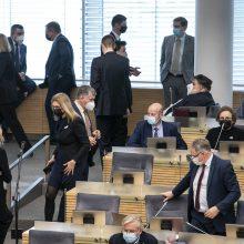 11 parlamentarų rūpinsis Seimo narių etika