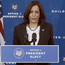 JAV išrinktosios viceprezidentės K. Harris personalo vadove taps T. Flournoy
