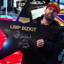 """Kaune koncertavęs """"Limp Bizkit"""" lyderis šlovina V. Putiną"""