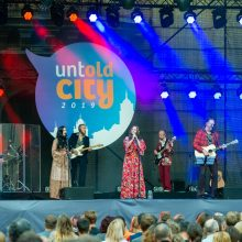 """Festivalyje """"Untold City"""" nostalgiškai suskambo grupės """"Skylė"""" garsiausios dainos"""