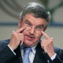 TOK prezidentas Th. Bachas: nėra priežasčių manyti, kad Tokijo olimpiada neįvyks